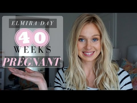 40 Weeks Pregnancy Update + 5 Tips to Help Induce Labour Naturally