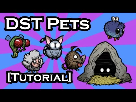 DON'T STARVE TOGETHER GUIDE - CUTE PETS - THEY'RE ADORBS (TUTORIAL)
