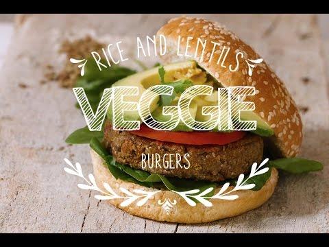 How to make Veggie Burgers ♥ Vegetarian Hamburgers