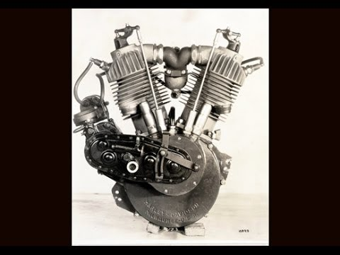 Harley Davidson F-Head or IOE Engine (1903-1929) and why its called that