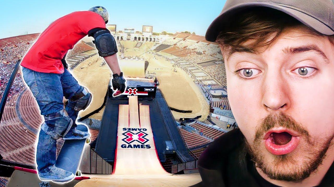 World's Longest Skate Jump!