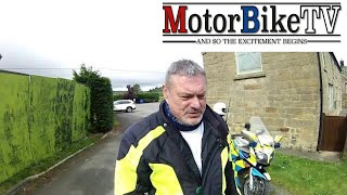 Day In The Life Of A Biker Cop (North Yorkshire) - audio isn't great