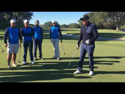 Training attentional focus in putting