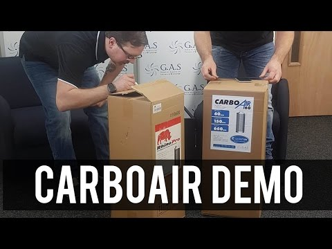 The New CarboAir Filter Product Demo