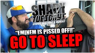 EXPOSING THESE RAPPERS!! SHADY TUESDAYS | Eminem - Go To Sleep Ft Obie Trice And DMX *REACTION!!