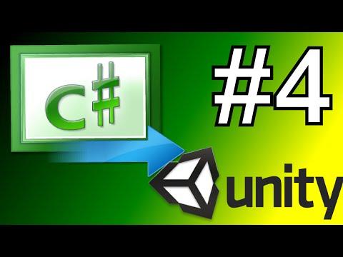 4.Unity C# Scripting Tutorial - Start & Update Function