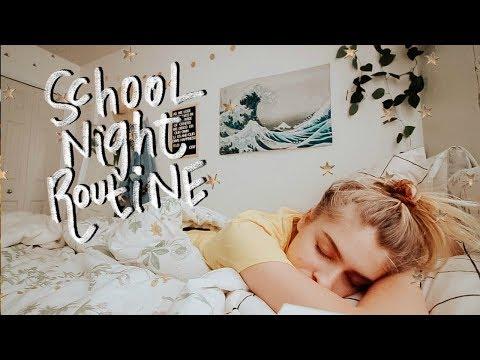 School Night Routine 2018 | Marla Catherine