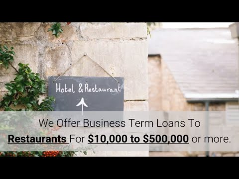 How To Get a Restaurant Small Business Loan