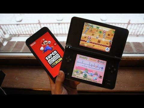 Super Mario Run Vs. New Super Mario Bros (DSi XL)!