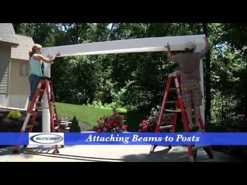 How to Assemble a Suncast Pergola