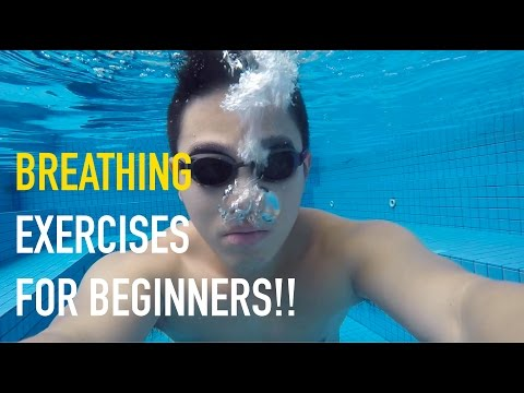 FAT BOY GYM #8 - BREATHING EXERCISES FOR BEGINNERS (SWIMMING)