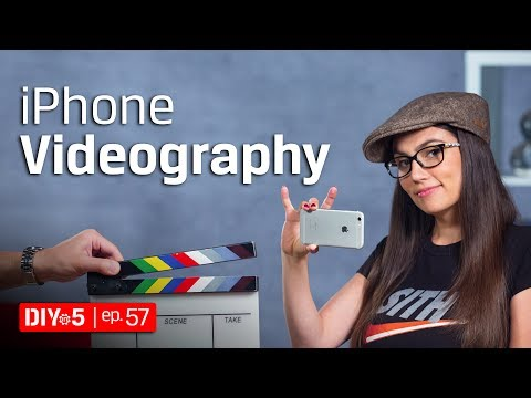 iPhone Tips - iPhone Videography 🎥 DIY in 5 Ep 57