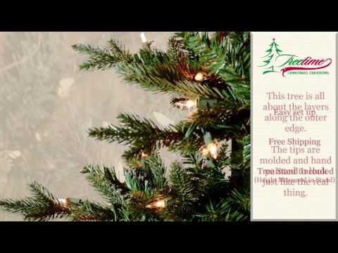 Silverbell Fir Artificial Christmas Tree