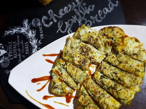 Cheesy garlic bread recipe | How to make garlic bread | Italian Style