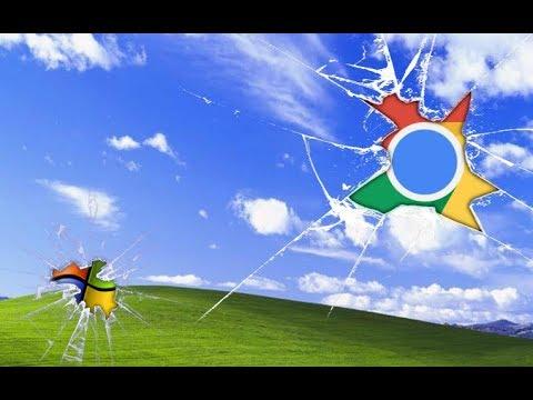 Chrome on windows xp