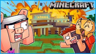 My friends completely destroyed my mansion in Minecraft... ep 5