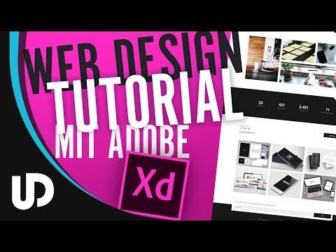 Web Design Tutorial mit Adobe Xd! [Tutorial]