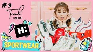 """Ngọc Trinh - Unbox 03   Đập hộp 5 đôi giày thể thao """"mê hoặc"""" các cô gái (Sportswear Unboxing)"""