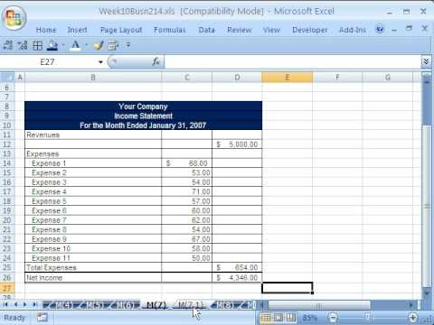 Highline Excel Class 54: Excel VBA code From Internet