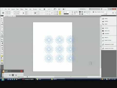 Adobe Indesign CS5: Polygon Tool