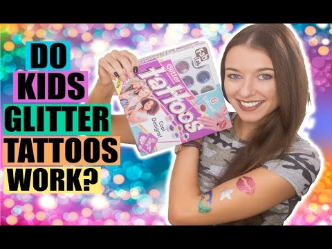 Do Kids Glitter Tattoos Actually Work? FAB LAB