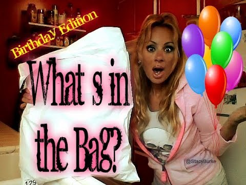 What`s in the Bag? #BirthdayEdition