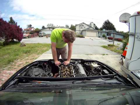 Miata Cylinder Head Replacement