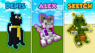 SUB vs CORL vs ALEX - WORST FEARS in Minecraft! (The Pals