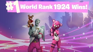 #1 World Ranked 1,925 Solo Wins - Road to 2,000 Wins!