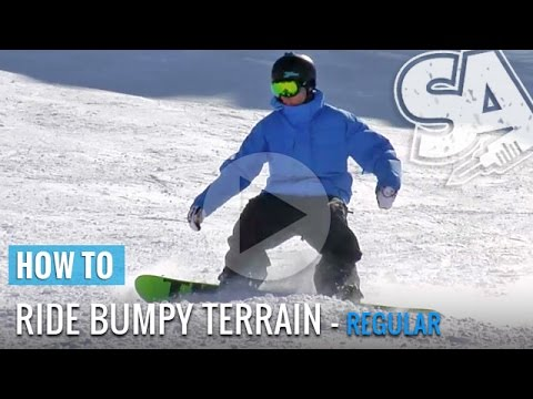 How To Ride Moguls & Bumpy Terrain On A Snowboard