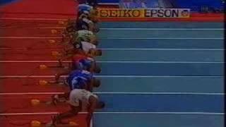 Justin Gatlin Indoor 60m 2003