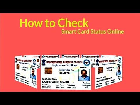 Maharashtra Nurses Smart Card Status Online