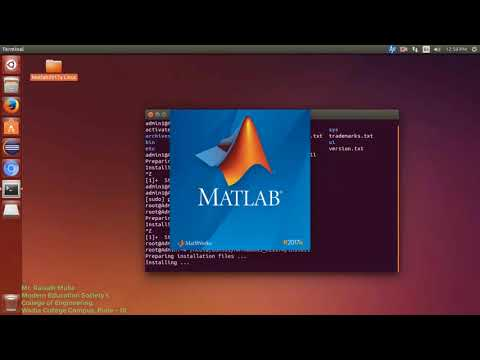 How to install MATLAB R2017a in Ubuntu 16.04 LTS