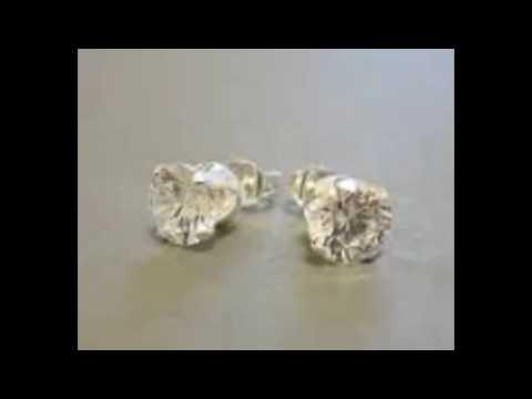 Fake Diamond Earrings