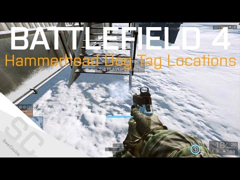 All Known Phantom Dog Tag Locations - Hammerhead Final Stand - BF4