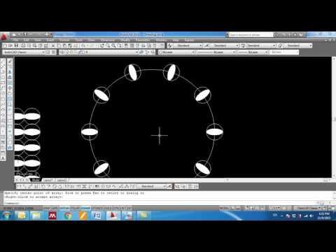 Lecture7:Autocad ( Trim- extend- array- match properties- dimension styles- dimensions)
