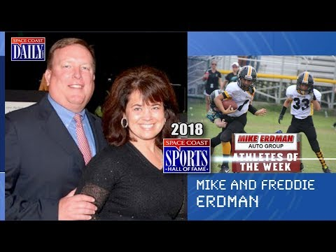 Mike and Freddie Erdman: 2018 Space Coast Sports Hall of Fame
