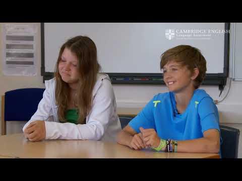 Cambridge English: Key for Schools, Sharissa and Jannis