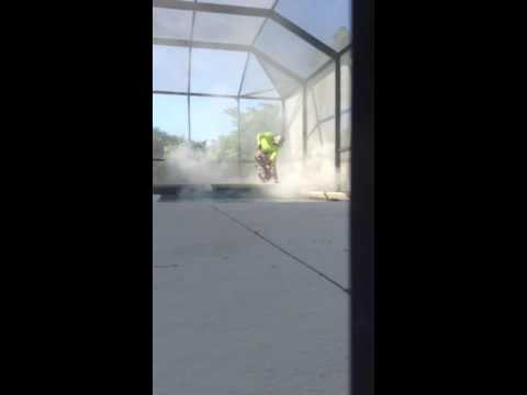 How to cut concrete edge and install new coping pavers