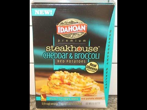 Idahoan Steakhouse: Cheddar & Broccoli Review