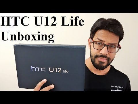 HTC U12 Life - Unboxing and First Impressions