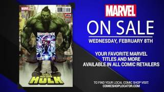 Marvel NOW! Titles for February 8th