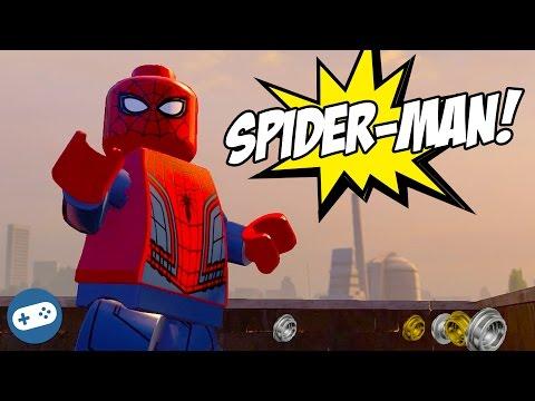 Spiderman Lego Marvel's Avengers Free Roam Gameplay New York