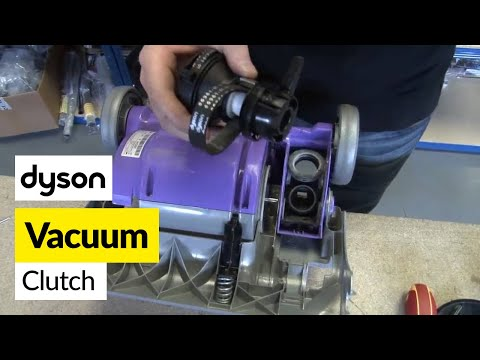How to replace the Dyson clutch on a Dyson DC04, DC07 and DC14 vacuum cleaner
