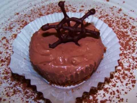 How to Make No Bake Mini Chocolate Cheesecakes