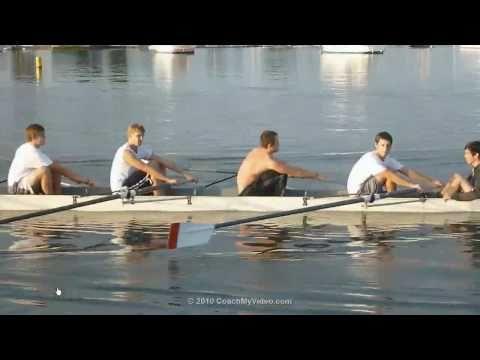 Rowing Video Analysis, in Serbian, in HD