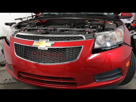 Chevrolet Chevy Cruze Front Bumper Cover Removal And Installation (2012 - 2014)