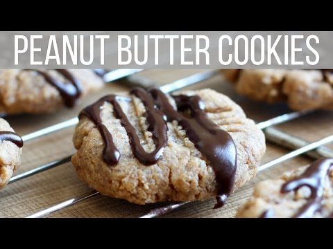 5 INGREDIENT VEGAN PEANUT BUTTER COOKIES