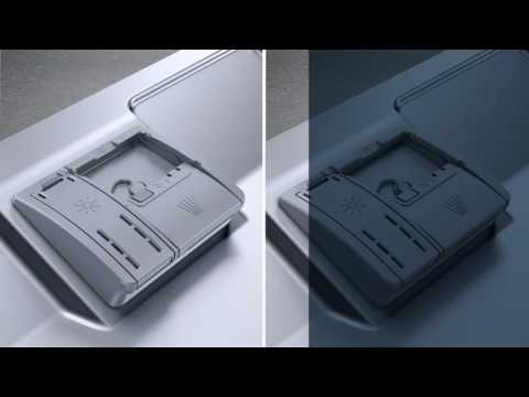 How to put detergent in a Siemens dishwasher