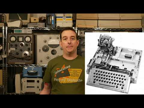 Modem Monday #3: Fifty-year-old Modem!  Bell 101C and Teletype Model 35 ASR